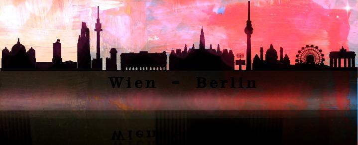 skylines de Vienne et Berlin